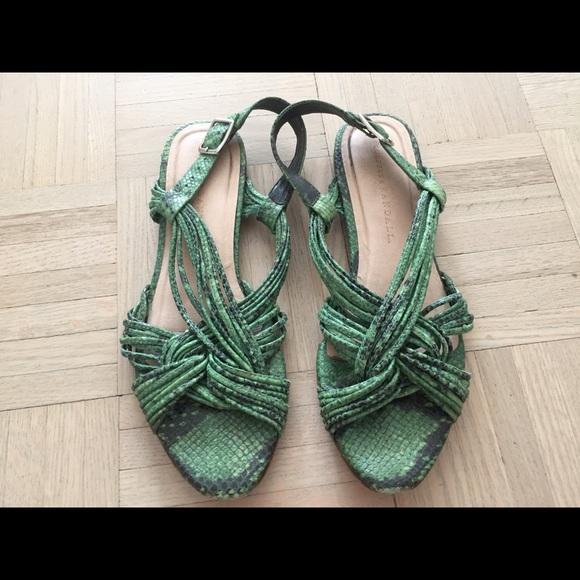 755f8d47b1e7a Loeffler Randall Shoes   Snakeskin Sandals   Poshmark